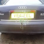 Audi A6 2.7 Twin turbo V6 lpg filling point stealthy