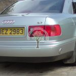Audi A8 D2 3.7 V8 autogas filling point