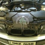 BMW 318i E46 Valvetronic Engine bay after conversion