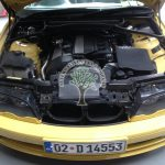 BMW 330i E46 Vanos engine bay after conversion