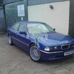 BMW 740i E38 Autogas converted in Northern Ireland Tyrone