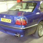 BMW 740i E38 being converted