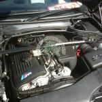 BMW E46 M3 3.2 Engine bay after lpg installation with Magic Injectors