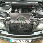 BMW X5 E53 3.0i Engine bay after autogas conversion