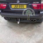 BMW X5 E53 4.4i v8 tow bar mounted autogas filler
