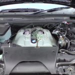 BMW X5 E53 4.8is v8 valvetronic engine bay with magic lpg injectors