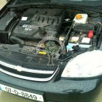 Chevrolet Lacetti 1.4 lpg autogas power engine bay after conversion in NI