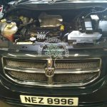 Dodge caliber 2.4 engine after being converted to run on propane