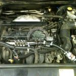 Ford mondeo engine view after lpg installations in Northern Ireland