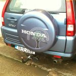 Honda CRV 2.0 Automatic tow bar mounted filling point