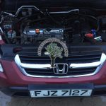 Honda CRV 2.0 LPG conversion in Aughnacloy, Biggest and The best autogas installations in Ireland