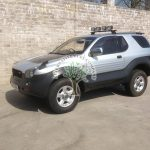 Isuzu Vehicross LPG converted with no problems alternative fuel company