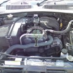 Jeep Cherokee KJ 2.4 engine bay after autogas conversion northern ireland