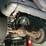 Jeep Cherokee KJ 3.7 V6 autogas filler point mounted on the left side of bumper