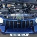 Jeep Cherokee KJ 3.7 V6 sequential autogas injection conversion engine bay