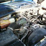 Jeep Cherokee KJ 3.7 V6 under bonnet after lpg conversion