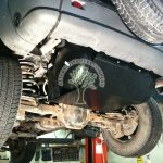 Jeep Cherokee KJ 3.7 V6 underslang tanks with smaller petrol tanks