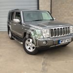 Jeep Commander 5.7 Hemi converted to autogas by alternative fuel company NI