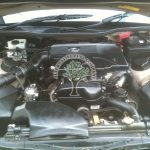Lexus GS 300 engine bay after autogas conversion with no problems starting first time