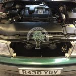 Lexus ls400 egine bay after lpg autogas conversion