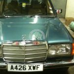 Mercedes 280E classic car autogas conversions and tuning