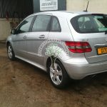 Mercedes B170 filling up with lpg for first time after autogas system installation