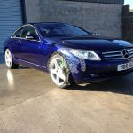 Mercedes CL500 C216 Autgas insurance inspections