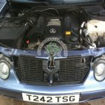 Mercedes CLK 320 C208 proffesional lpg installation problems fixed servicing rough runing on gas sorted