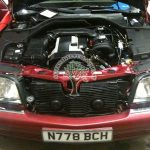 Mercedes S320 W140 Engine bay autogas conversion