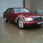 Mercedes S320 W140 lpg autogas conversions in ireland and UK