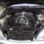Mercedes S430 W220 engine after being converted to gas in NI