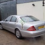 Mercedes S500 W220 filling up with lpg autogas stations in Ireland