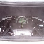 Mercedes S500 W220 securely mountes autogas tank donut toroidial