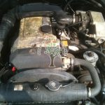 Mercedes W202 c200 Engine bay after fitting lpg system AFC G3