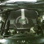 Mercedes cl500 W215 high powered engine working well on LPG