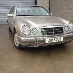 Mercedes e240 V6 w210 lpg autogas converted to run on gas