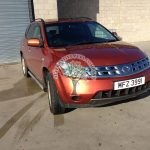Nissan Murano 3.5 Autogas inspections, diagnostic fault finding and