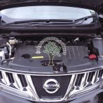 Nissan Murano 3.7 MK2 engine bay after lpg installs AFC G3 MAgic injectors and Reducer