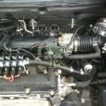 Nissan X trail 2.5 converted to lpg Hana Injectors KME silver reducer AFC G3