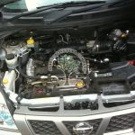Nissan X trail on LPG Engine bay Magic Injectors AFC G3