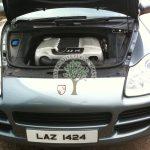 Porsche Cayenne 3.2 Lpg autogas system installation engine bay