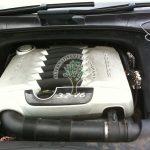 Porsche Cayenne 3.2 engine with Magic jet injectors HANA