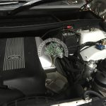 Range Rover L322 4.4 V8 engine bay after lpg conversion