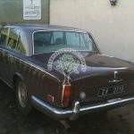 Rolls Royce silver shadow lpg autogas filler located under rear bumper