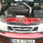 Saab 95 turbo Aero converted to gas lpg propane in NI high performance cars no problem