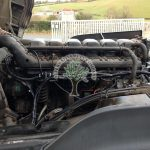 Scania 6 cylinder HGV Truck Diesel Blend LPG Autogas engine view after conversions