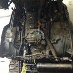 Scania 6 cylinder HGV Truck Diesel Blend LPG Autogas engine view installation