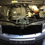 Skoda Superb 1.8 turbo engine bay after lpg conversion no hasle no problem