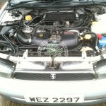 Subaru Legacy 2.0 Twin Turbo with autogas installation