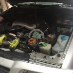 Suzuki Vitara V6 Conversion in progress alternative fuel company Aughnacloy